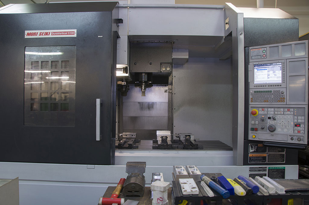 mori seiki duravertical 5100